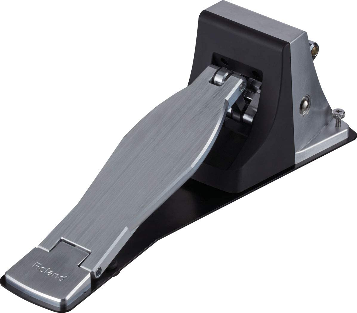 Roland KT-10 Kick Trigger Pedal Bundle with Roland PDS-10 Stand and Austin Bazaar Polishing Cloth