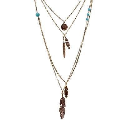 Halsketten & Anhänger Modeschmuck Modeschmuck Silberfarbene Kette Mit Dreieckigem Anhänger