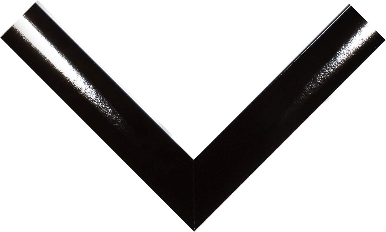 cadre fait main en MDF dot/é d/'un verre synth/étique antireflet incassable et d/'un fond r/ésistant couleur : Wenge dimensions ext/é FRAMO 35mm Cadre photo sur mesure pour photos de 30 x 10 cm largeur du cadre : 35 mm