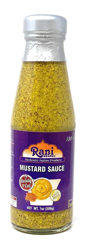 Rani Indian Mustard Sauce 7oz (200g) ~ All Natural, Glass Jar, Ready to eat, Vegan ~ Gluten Free | NON-GMO | Indian Origin