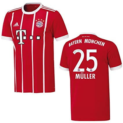 adidas Bayern Trikot Home Herren 2018 MÜLLER 25