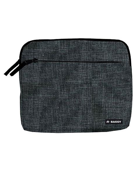 Baggy Maletin Funda Negro para Tablet iPad Ordenador portatil Documentos