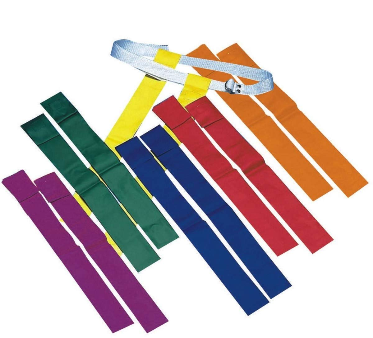 S&S Worldwide FF106-P Spectrum Flag Football Sets (Pack of 12)