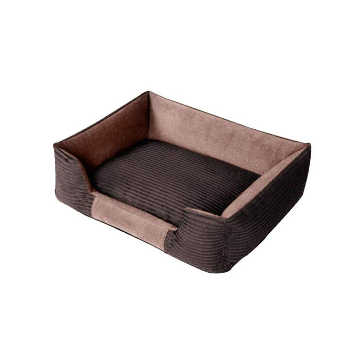 Ochre XL8haowenju Dog bed, detachable puppy, teddy golden dog pad, large dog bed, small medium and large mattress, dog mattress, pet supplies, Garfield, kennel Comfortable and comfortable