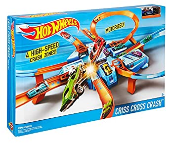 Hot Wheels Criss Cross Crash Track Set 12