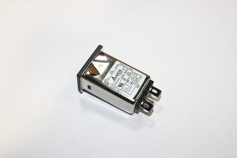 Delta 03GENG3E AC Power Entry modules IEC Connector Filter Qty=5
