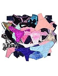 Panties 10 / 20 / 30 Pairs Women Sexy Underwear T-back Thongs L / XL / XXL