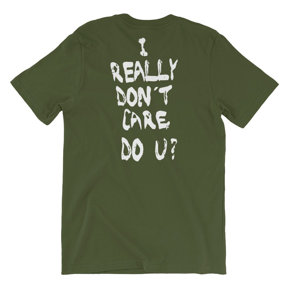 Spacedust Apparel First Lady Short-Sleeve Unisex T-Shirt Do u I Really Dont Care