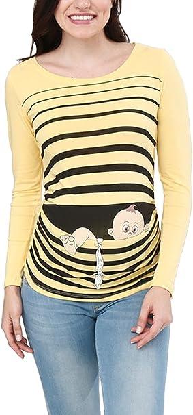 Amarillo de bebé niña de manga larga camisetas con sólo la cosa más dulce detalle