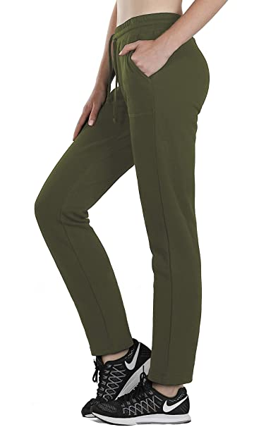 Amazon.com: icyzone - Pantalones deportivos para mujer con ...
