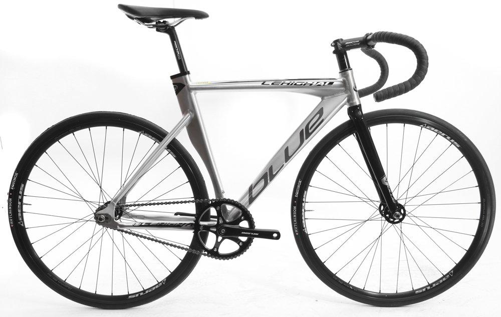 ブルーLehigh al 53 cm 700 C 6061合金トラック固定ギアシングルスピードバイク新しい B07218HJMF