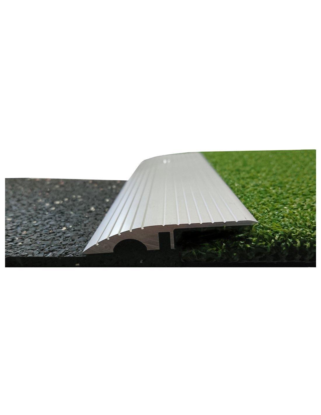 Jardin202 2mm alt. 50mm anch. 2m larg. Adhesivo - Perfil Aluminio 2-5-8 mm Altura