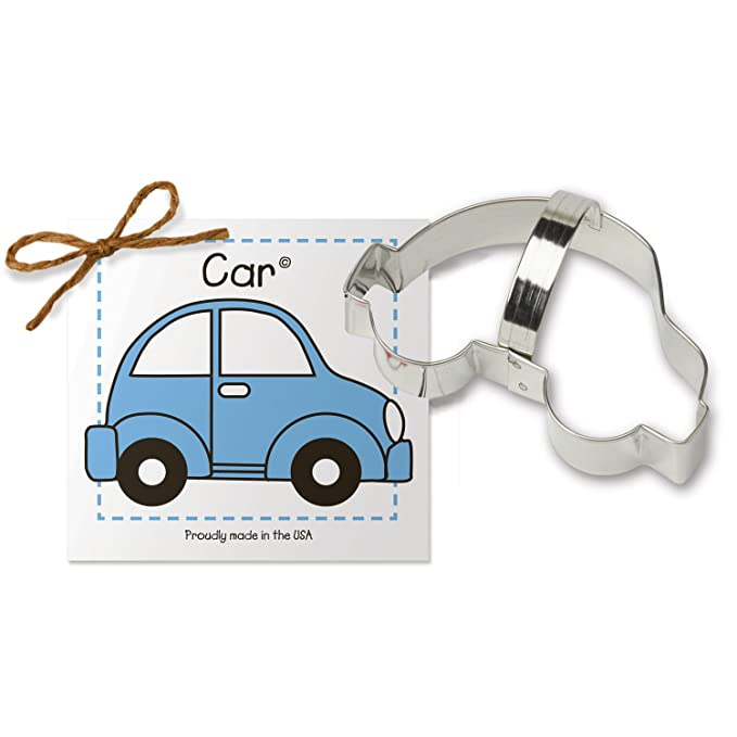 Amazon.com: Car Cookie and Fondant Cutter - Ann Clark - 4.8 Inches - US Tin Plated Steel: Kitchen & Dining