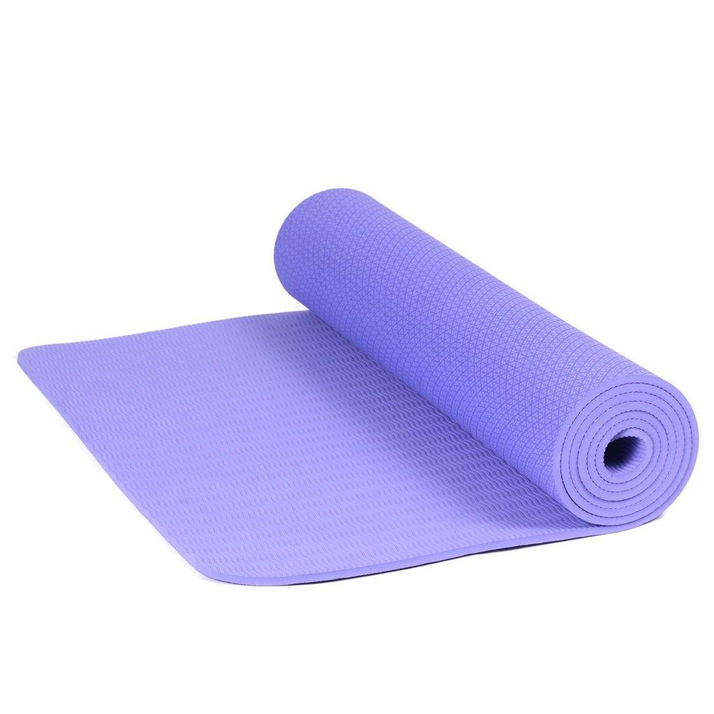 AILI Fitness-Yoga-Matten, Bequeme Rutschfeste Sport-Monochrom-Matten, geeignet für Pilates, Yoga, Freizeit