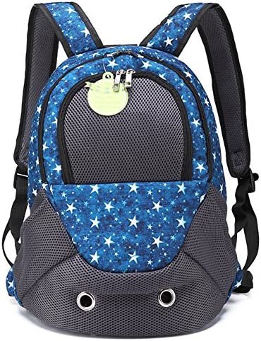 Creation Core Portable Sporty Pet Backpack Breathable Cat Dog Carrier Bag Front Backpack with Zippered Window