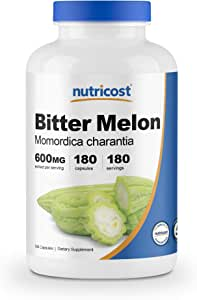 Nutricost Bitter Melon 600mg, 180 Capsules