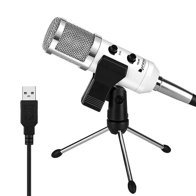 3 opinioni per MICROFONO USB, MICROFONO CONDENSADOR FIFINETM PLUG & PLAY 12 6046