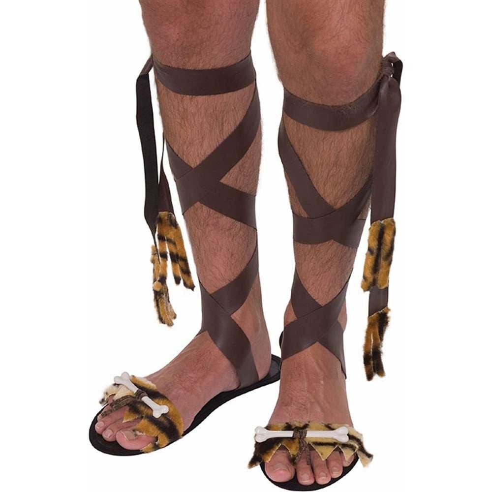 Caveman Sandals Fancy Dress: Amazon.es: Juguetes y juegos