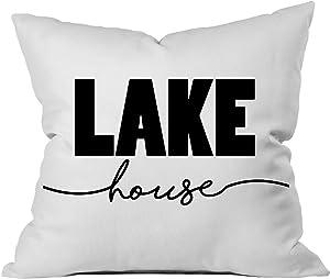 Oh, Susannah Lake House 18x18 Throw Pillow Cover Beach House Decoration