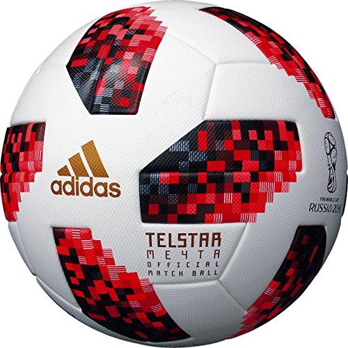 adidas(アディダス) 5号球 テルスター ミチター 2018 FIFAワールドカップ ノックアウトステージ 公式試合球 AF5300F B07DX22ZKM