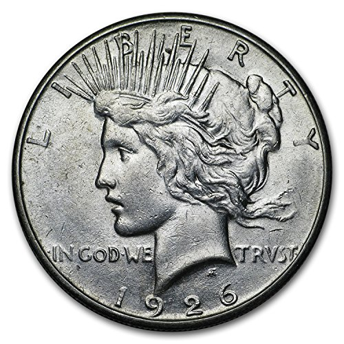 (1926 S Peace Dollar XF $1 Extremely Fine)