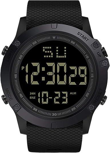 MSSweet-Electrónica HucodeVan Moda Reloj de Hombre y Pareja ...
