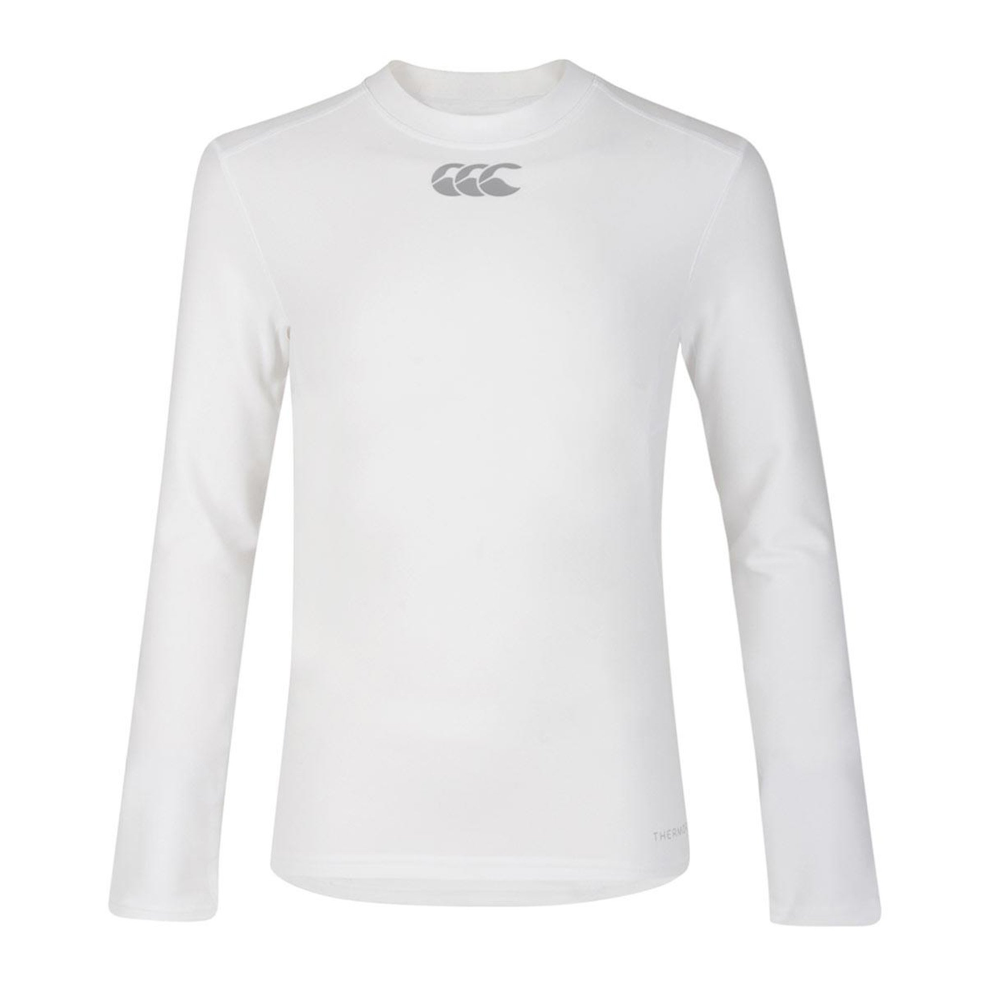 Canterbury Childrens/Kids Long Sleeve Thermoreg Base Layer Top (S) (White)