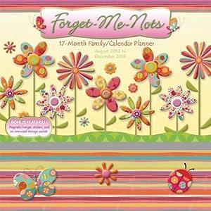 Forget Me Nots 2013 Wall Planner (calendar) Linda Maron
