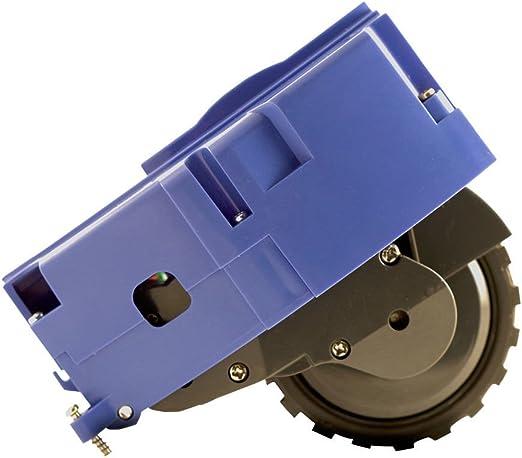 ASP ROBOT Rueda lateral izquierda para Roomba 650 Serie 600. Recambio ORIGINAL repuesto compatible para aspirador irobot Rumba Serie 6 ALTA CALIDAD: Amazon.es: Hogar