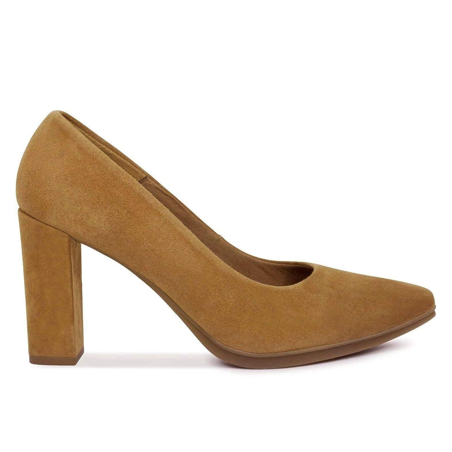 Zapatos Salón. Zapatos Piel Mujer Hechos EN ESPAÑA. Zapatos Tacón Cuero. Zapato Mimao. Zapatos Mujer Tacón. Zapatos Mujer Fiesta y Baile Latino. Zapato Cómodo Mujer con Plantilla Confort Gel