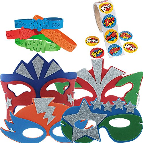 Super Hero Party Favor Supply product image