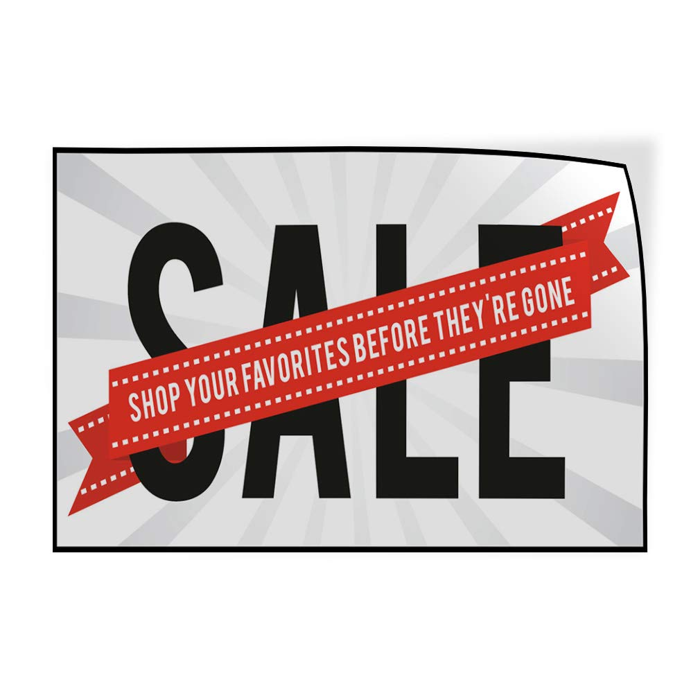 Decal Sticker Multiple Sizes Sale Shop Your Favorites Before Theyre Gone Business Sale Shop Your Favorites Before Theyre Outdoor Store Sign White