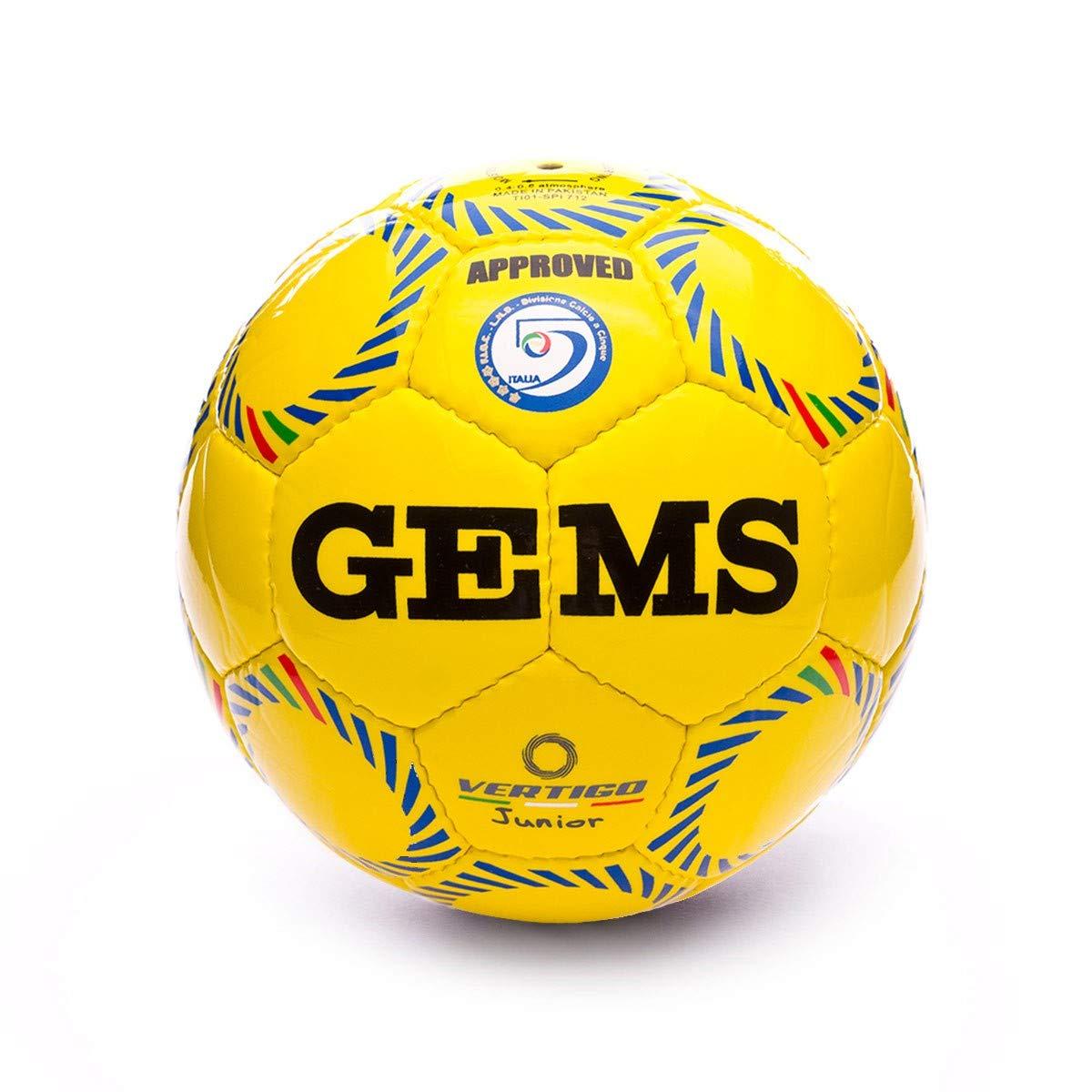Gems Vertigo Junior, Balón, Amarillo, Talla 3 (58 cm): Amazon.es ...