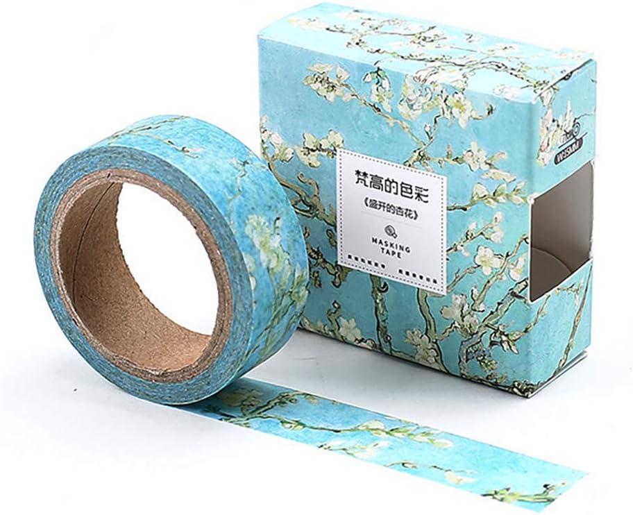 Card Making Supplies CR-W-M099 Modern Colorful Gold Foil Chevron Pattern Washi Tape Pink Blue Green Japanese Paper Tape ScrapbookTape