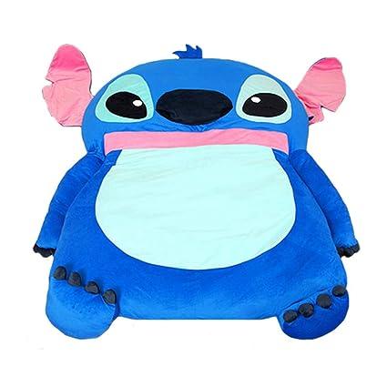 Alkem Cute Cartoon Lilo y Stitch Imagen Saco de Dormir sofá Cama Doble Cama Doble Cama