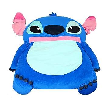 Alkem Cute Cartoon Lilo y Stitch Imagen Saco de Dormir sofá Cama Doble Cama Doble Cama colchón para niños: Amazon.es: Hogar