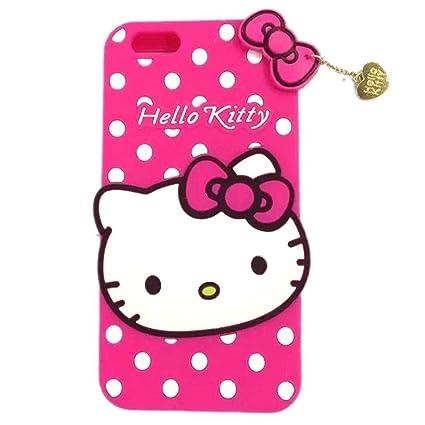 premium selection fa2f7 1716c Vivo V5 Plus Back Cover - Johra Printed Hello Kitty Soft Rubber Silicone  Pink Back Cover Case for Vivo V5 Plus Back Cover
