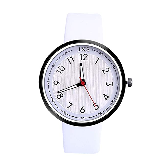 Amazon.com : sportsmanship Casual Women Watches Female Leather Quartz Wrist Watch Fashion Ladies Watch Relojes para Mujer(Black, 1) : Sports & Outdoors