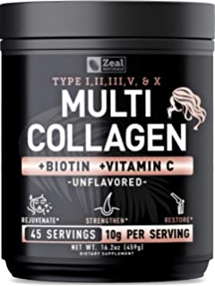 Amazon.com: Multi Collagen Powder, Premium Hydrolyzed ...