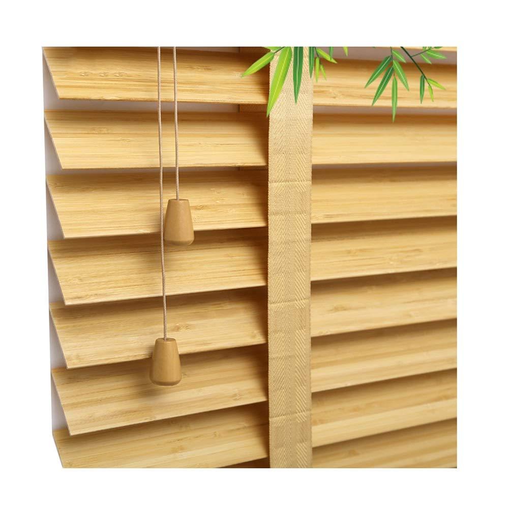 LIQICAI 竹のカーテン すだれ ベネチアンブラインド 竹のカーテン 屋外/屋内用 ワイドスラット 光フィルタリング 防水 (色 : 50mm, サイズ さいず : 100X150CM) B07RWRFDFN 50mm 100X150CM