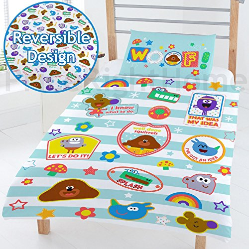 Price comparison product image Hey Duggee Woof' Junior Duvet, Polyester-cotton, Multi-colour, Full