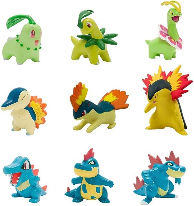 PoKéMoN Pack de múltiples Figuras Legacy Evolution T19050L1 ...