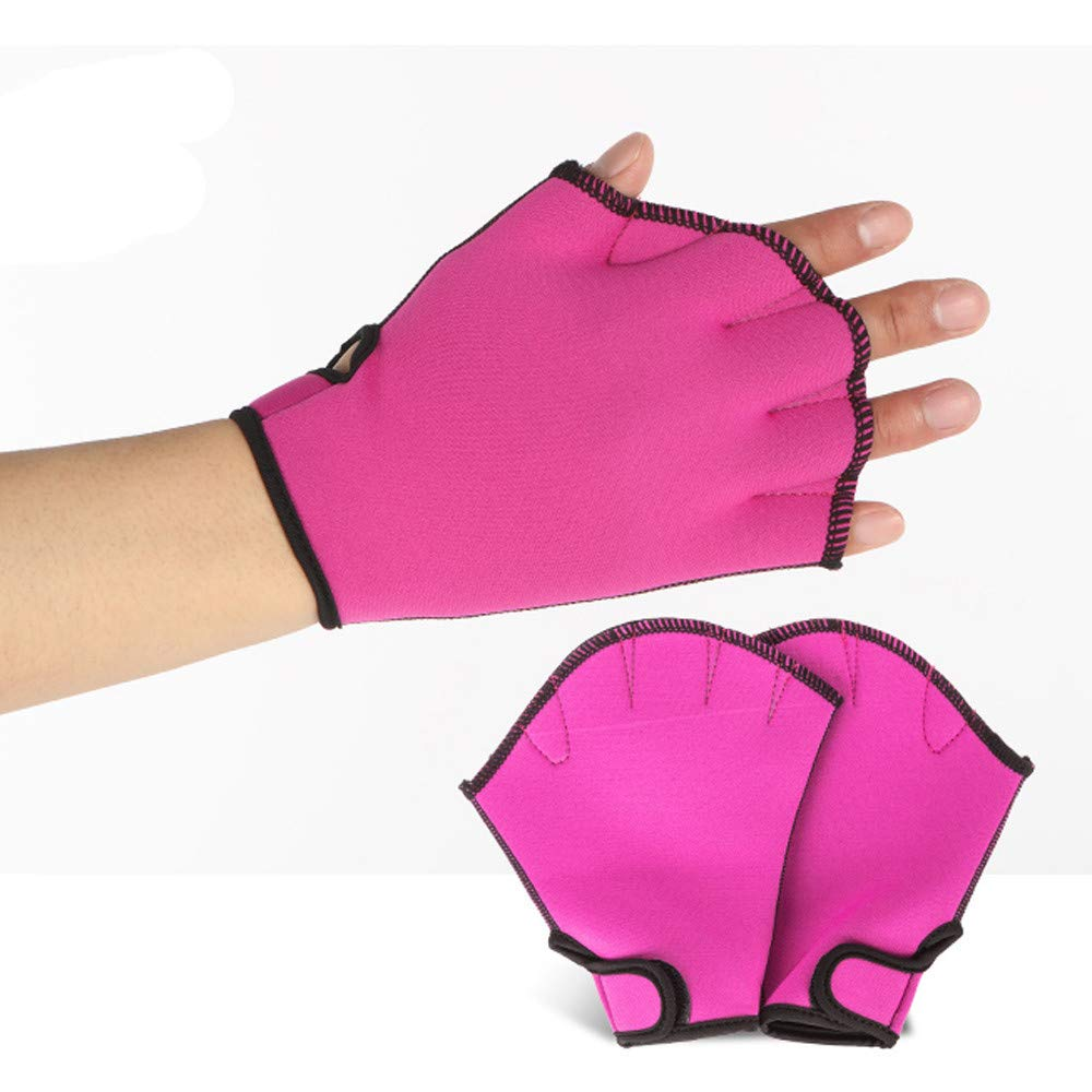 HYIRI 2018 promotionNEW Fansion Diving Swimming Surfing Webbed Gloves Training Fins Hand Paddle Surfing Swim