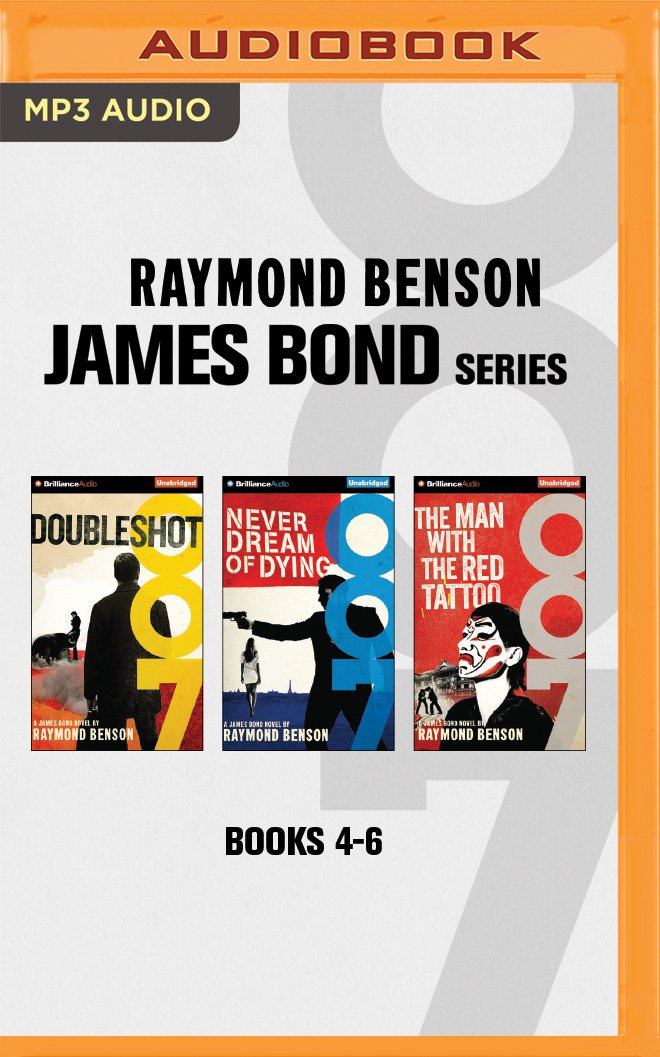 Download Raymond Benson - James Bond Series: Books 4-6: Doubleshot, Never Dream of Dying, Man with the Red Tattoo pdf epub