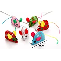 Polykor Useful Durable Little Mouse Pet Cat Chew Training Toy with Catnip