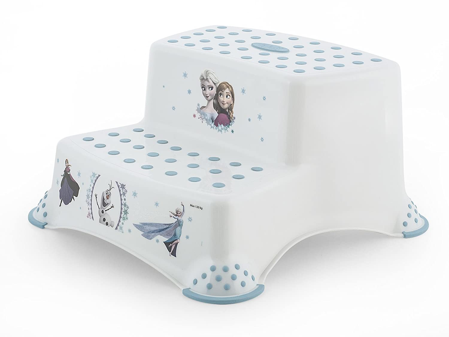 Lulabi sgabello disney frozen step 2 gradini bianco: amazon.it