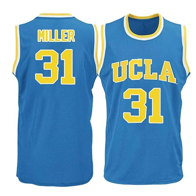 los angeles 48e1a 7a06b Amazon.com: Men's UCLA Bruins Miller #31 Blue College ...