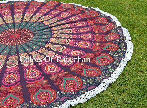Smart Electronics Vintage Round Tapestry Mandala Boho Hippie Tapestry Beach Mats Indian Towel Spare No Cost At Any Cost Home Automation Modules