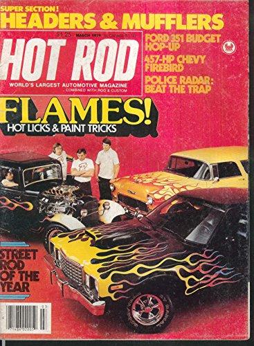 HOT ROD Ford 351 457 Chevy Firebird Police Radar Headers Mufflers + 3 1979
