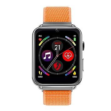 OOLIFENG Bluetooth GPS Fitness Tracker Teléfono 4G Smartwatch con ...